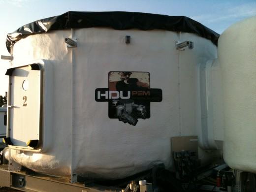 fotografie s logem, navrženým pro projekt v Arizoně