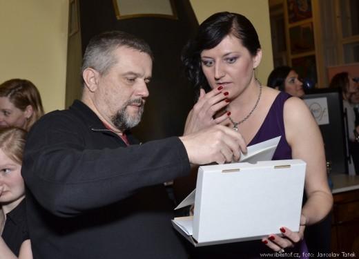 Daniel Vaněk a Michaela Lejsková