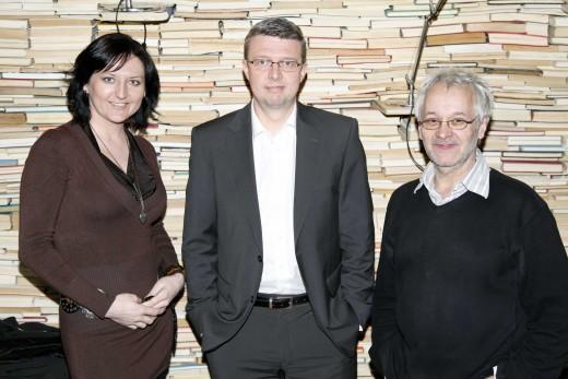 Ing. Karel Havlíček, Ph.D. MBA, Michaela Lejsková, Robert Va