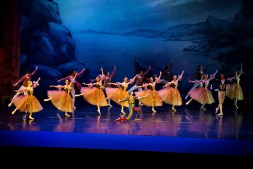 Labutí jezero Moscow City Ballet