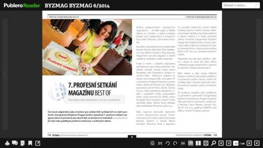 mediální výstup v magazínu BYZMAG
