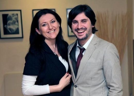 Michael Krásný a Michaela Lejsková