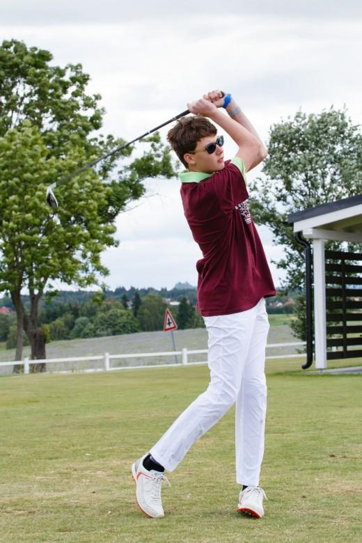 Výuka golfu s Carlsbad International School