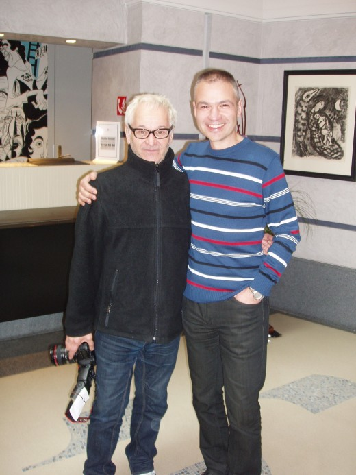 Janis Sidovský a Robert Vano