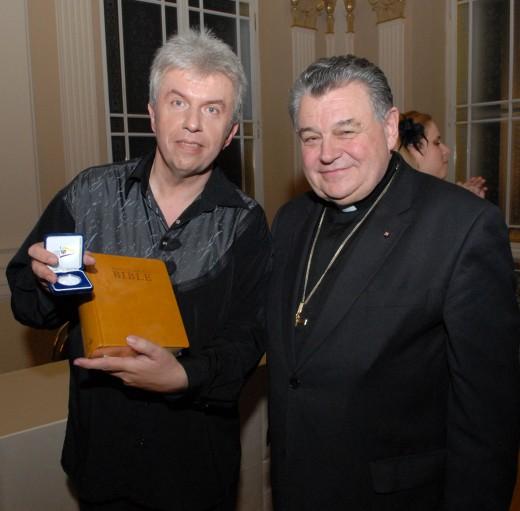 Jaroslav Svěcený a Dominik Duka