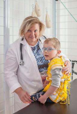 MUDr. Jarmila Zipserová  ̶  přednostka soukromé Neurorehabilitační kliniky Axon