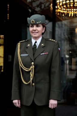 PhDr. Kateřina Bernardová - emeritní plukovník, armádní psycholožka