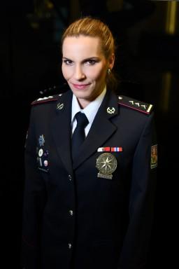 Petra Hrůzová –  tisková mluvčí, vrchní inspektorka PČR