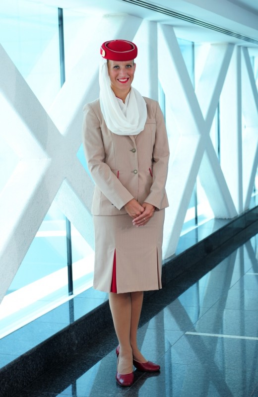 Linda Mensova - Senior Flight Stewardess for Emirates