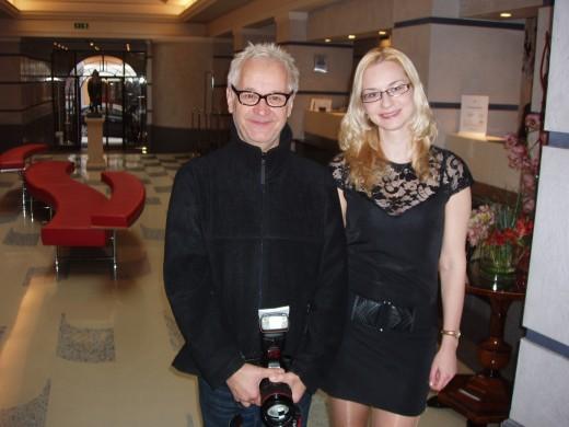 MDDr. Mgr. Petra Gregorová a Robert Vano