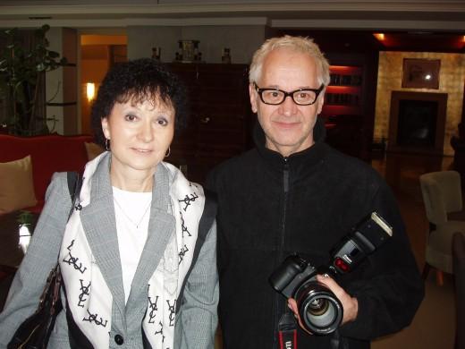 MUDr. Renata Schmiedbergerová a Robert Vano
