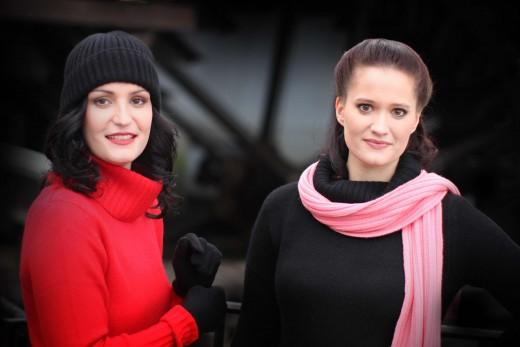 Natálie Kocábová a Hana Robinson