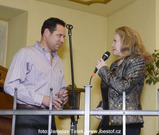 Pavel Vítek a Eva Pilarová