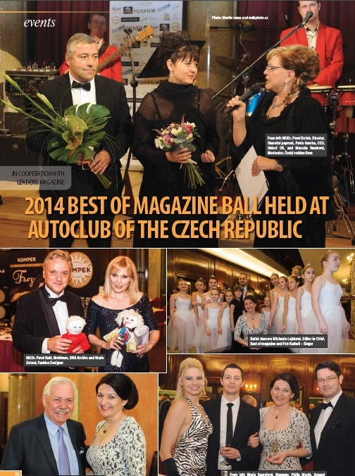 Ples Best of v Leaders Prague magazínu