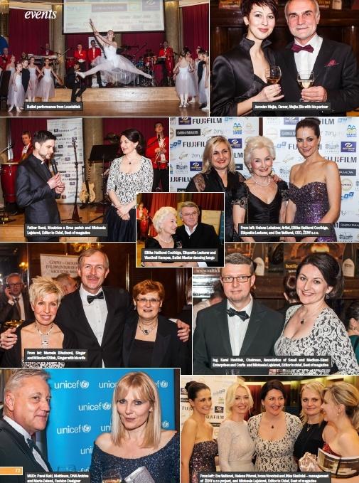 Ples Best of v Leaders Prague magazínu