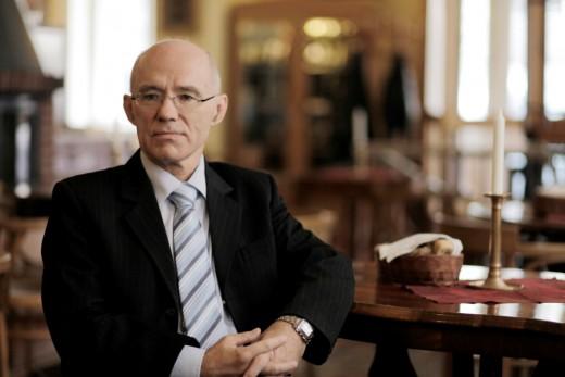 Prof. PhDr. Jiří Straus, DrSc., foto: Robert Vano