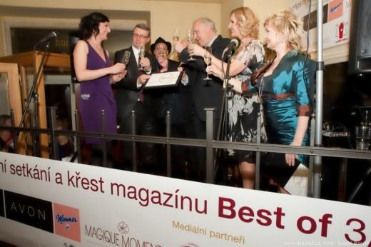 Profesní setkání a křest magazínu Best of 8.3.2012