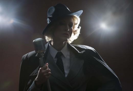 Renata Drössler ala Marlene Dietrich