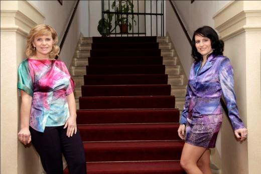 Renata Olšová a Jiřina Tauchmanová, foto: Robert Vano