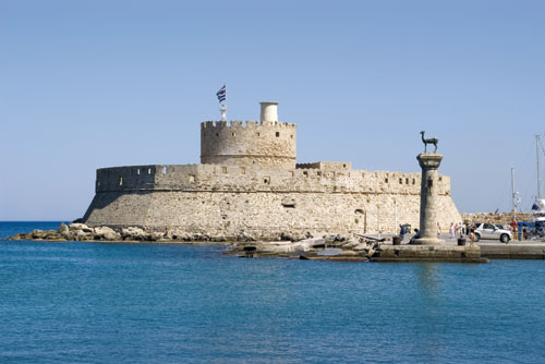 Rhodos, pevnost