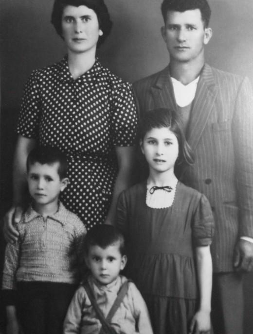 rodiče a sourozenci George
