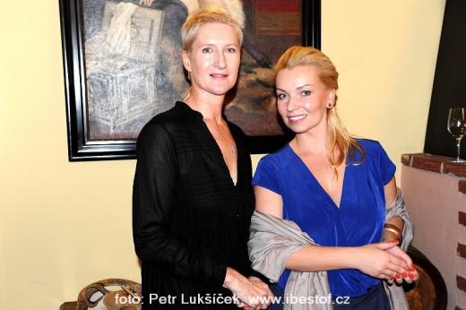 Sylva Lauerová a Jitka Kratochvílová