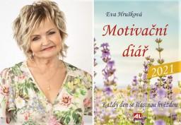 Herečka Eva Hrušková vydala Motivační diář 2021 plný úspěšných žen!