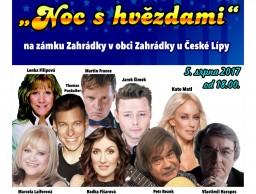 Noc s hvězdami na zámku Zahrádky