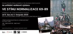 Normalizace v obrazech. Venkovní výstavu k třicátému výročí najdete v Praze.